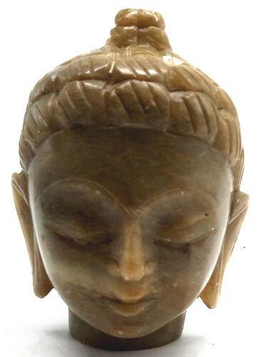 Estatua de piedra Cabeza de Buda 7cm