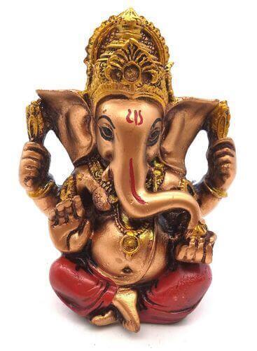 Estatua de resina Ganesh Multi 12cm