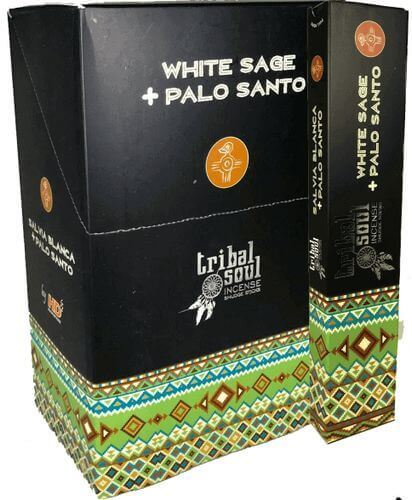 Tribal Soul White Sage & Palo Santo Incienso 15g