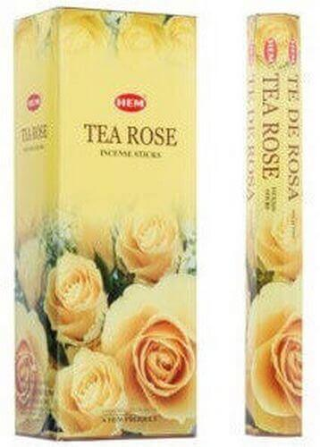Encens HEM Thé Rose 20g