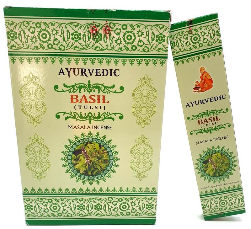 Encens Ayurvedic Basilic 15g