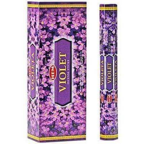 Encens HEM Violette 20g