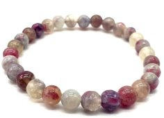 Bracelet Tourmaline Multicolore perles 6mm