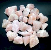 Quartz Rose brut small 1KG
