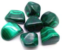 Malachite 'AAA' roulées 100g